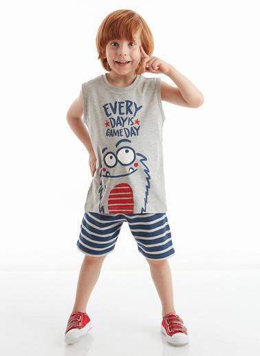 Denokids Gameday Erkek Çocuk Şort Takım Lacivert